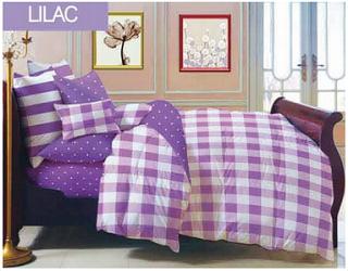 sprei-polkadot-lines-warna-ungu-motif-city-lilac